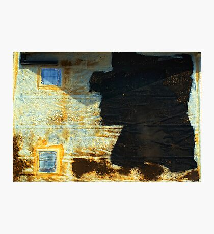 Abstract garage roof Photographic Print