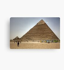 Jolly Boys Outing to Giza Canvas Print