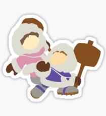 The Ice Climbers Sticker