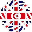 British Muslim Multinational Patriot Flag Series by Carbon-Fibre Media