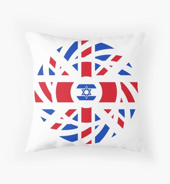 British Israeli Multinational Patriot Flag Series by Carbon-Fibre Media