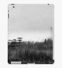 tesla station iPad Case/Skin