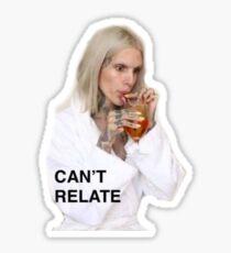 Pegatina Jeffree Star - No se puede relacionar