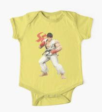 Ryu Punches In Kids Clothes