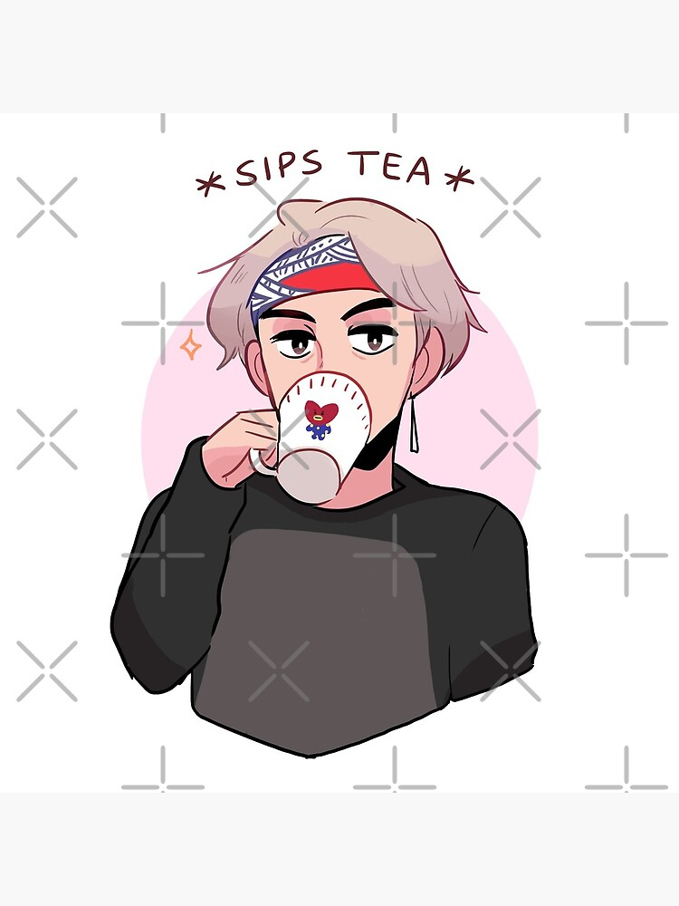 MIC DROP: V SIPPIN TEA by randomsplashes
