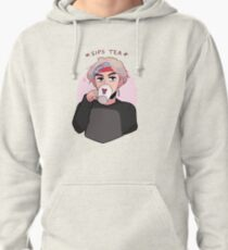 MIC DROP: V SIPPIN TEA Pullover Hoodie