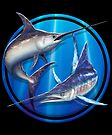 Broadbill Swordfish & Striped Marlin by David Pearce