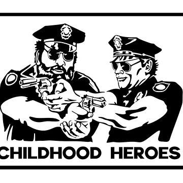 Childhood Heroes by metropol