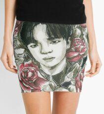 Woojin Stray Kids, Red Roses Mini Skirt