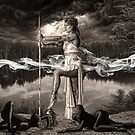 I'm a wandering soul. -Ainia- by TristanPhoenix