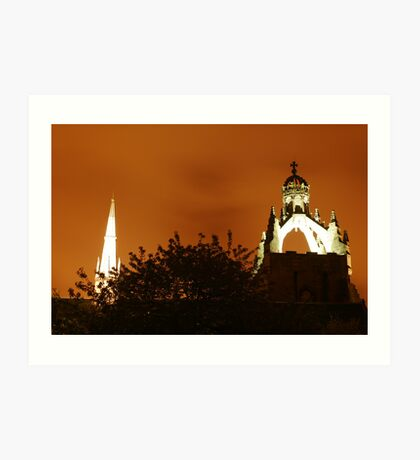Night in Old Aberdeen Art Print