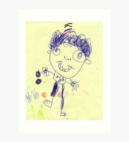 Another boy... Art Print