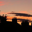 Britain at sunset by christopher363