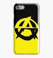 Voluntaryism is Anarchy iPhone Case/Skin