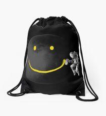 Make a Smile Drawstring Bag