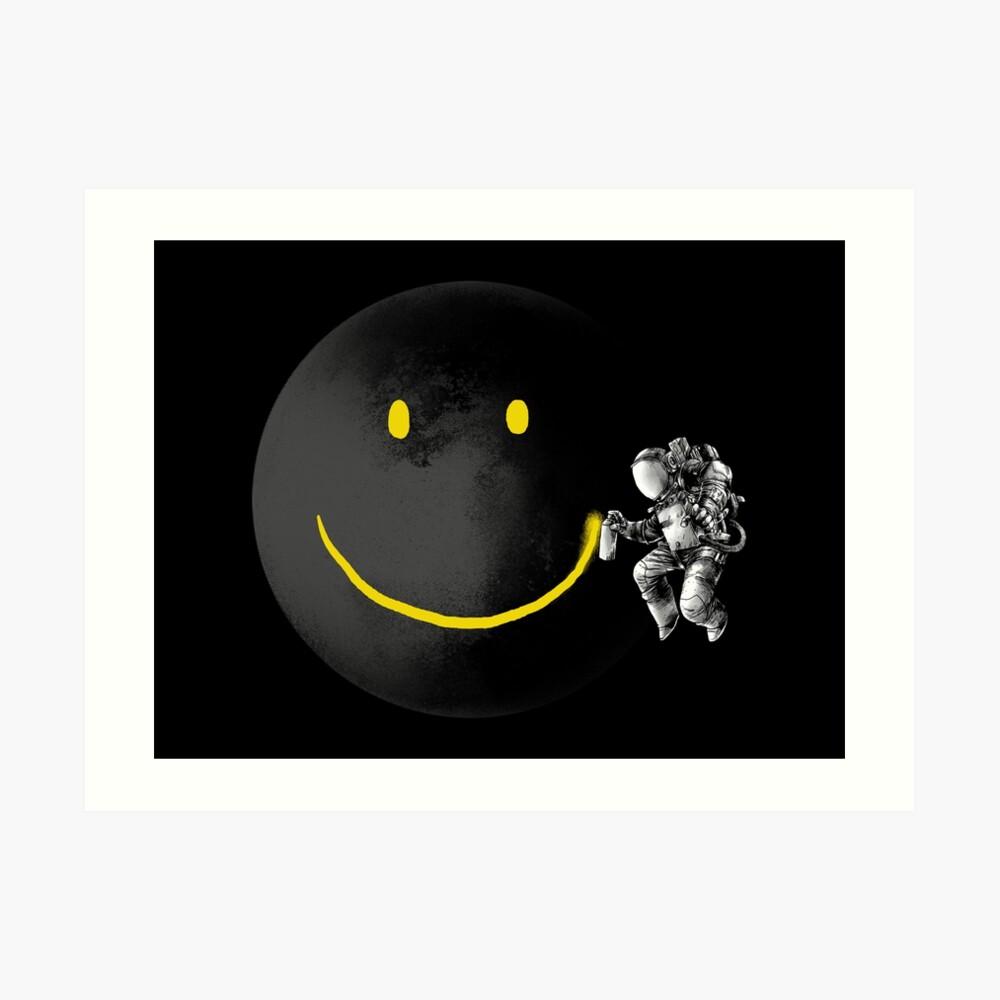 Make a Smile Art Print