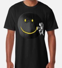 Lächeln Longshirt
