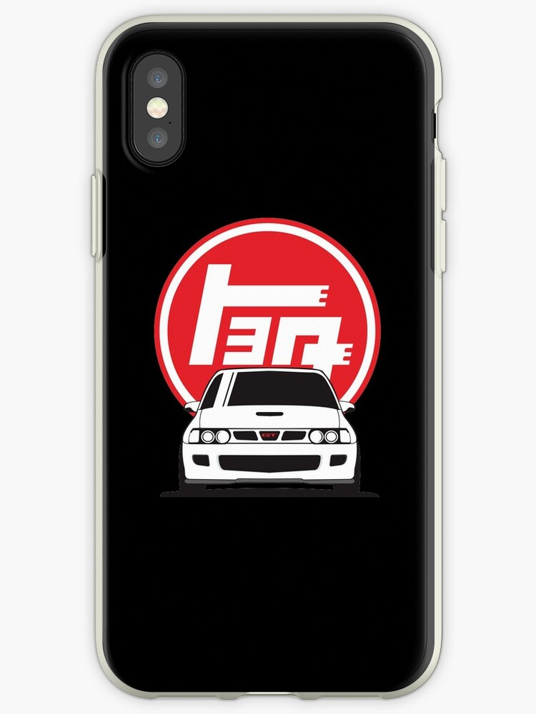'Toyota Starlet GT Turbo Hatch!!! Merch' iPhone Case by 154avenue