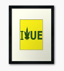 I Love UE Framed Print