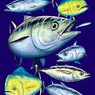 Mixed Tuna & Mahi Mahi by David Pearce