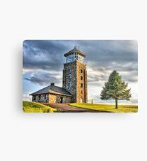 The Observation Tower at Quabbin Reservoir Metal Print