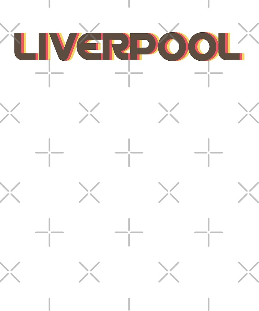 Retro Liverpool T-Shirt by designkitsch