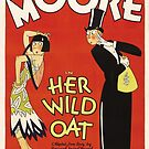 Vintage Hollywood Nostalgia Her Wild Oat Film Movie Advertisement Poster by jnniepce