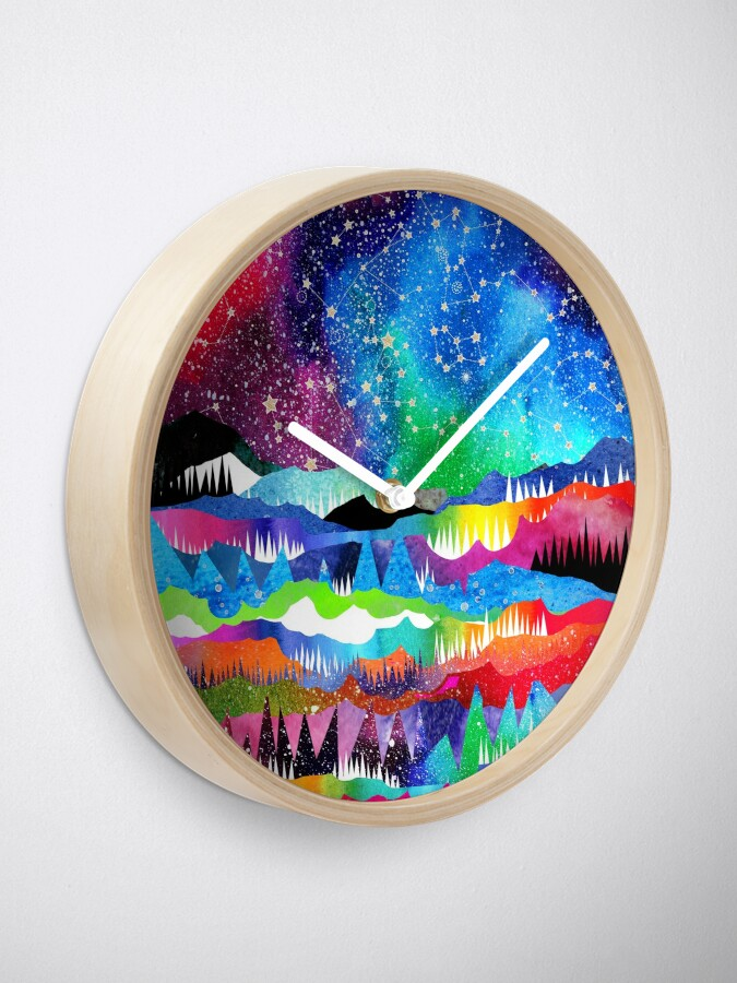 Alternate view of Winter Constellations Clock