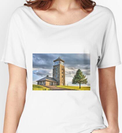 The Observation Tower at Quabbin Reservoir Loose Fit T-Shirt