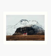 Tiny Icelandic Church Art Print