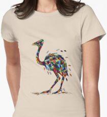 Ostrich Women's Fitted T-Shirt