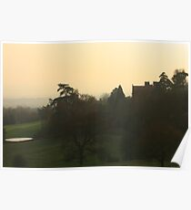 Sunset at Chartwell Poster