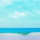 Green Wave - Abstract seascape by Dirk Wuestenhagen