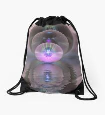 Triple Refraction Drawstring Bag