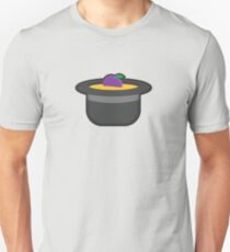 A Single Plum, Floating in Perfume, Served in a Man's Hat T-Shirt