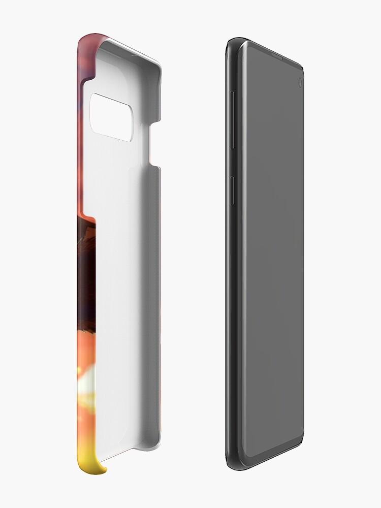Alternate view of Soaring - Dragon Illustration Case & Skin for Samsung Galaxy