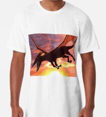 Soaring - Dragon Illustration Long T-Shirt