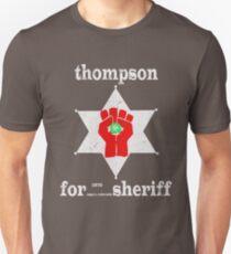 Thompson For Sheriff Slim Fit T-Shirt