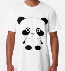 Cute Panda Bear Long T-Shirt