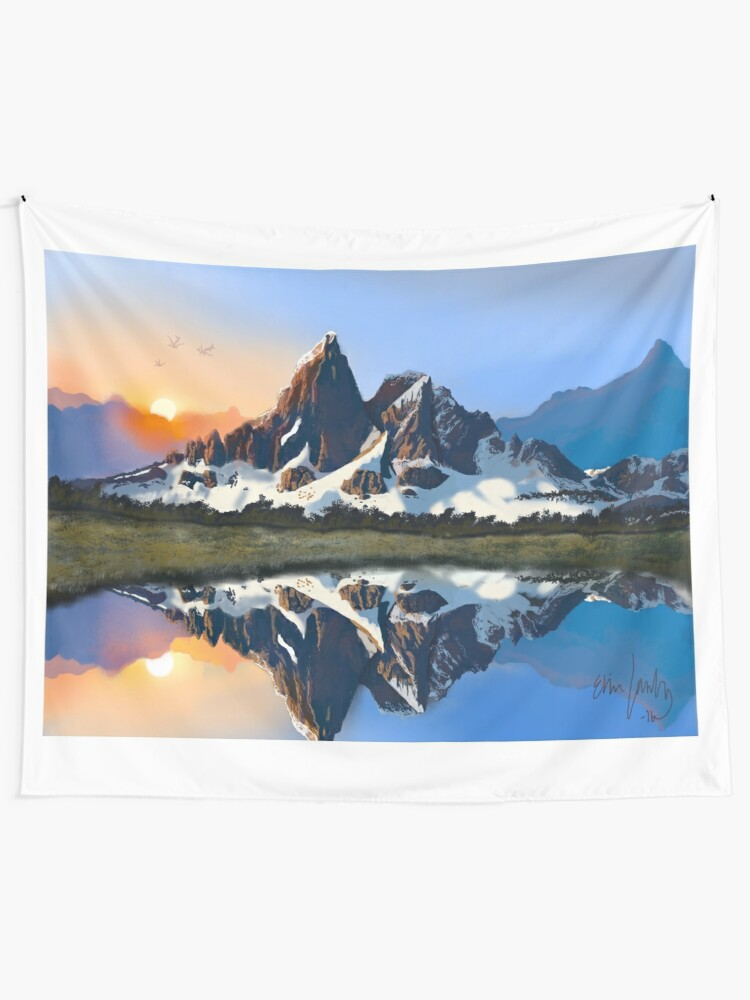 Alternate view of Clarity Wall Tapestry