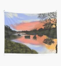Rest Here Wall Tapestry