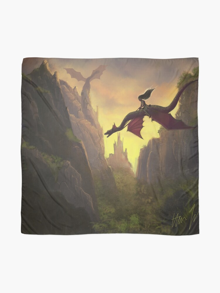 Alternate view of Dragon Rider Scarf