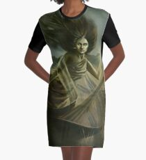 Spirit of the Meadow Graphic T-Shirt Dress