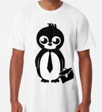 Business Penguin Long T-Shirt