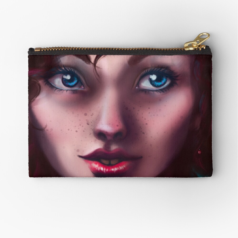 Lady of the Ladybugs Zipper Pouch