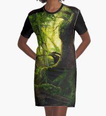 Ancient Graphic T-Shirt Dress