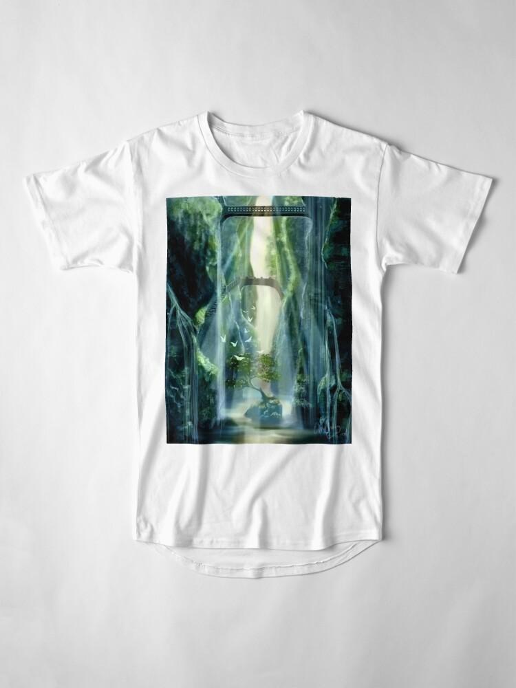 Alternate view of Secret Places Long T-Shirt