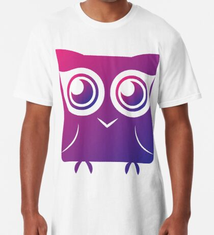 Curious Owl Long T-Shirt