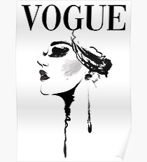 Vogue Magazine Cover Poster