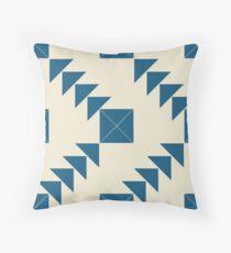 Marion's Favourite Blue Arrow Pattern Floor Pillow